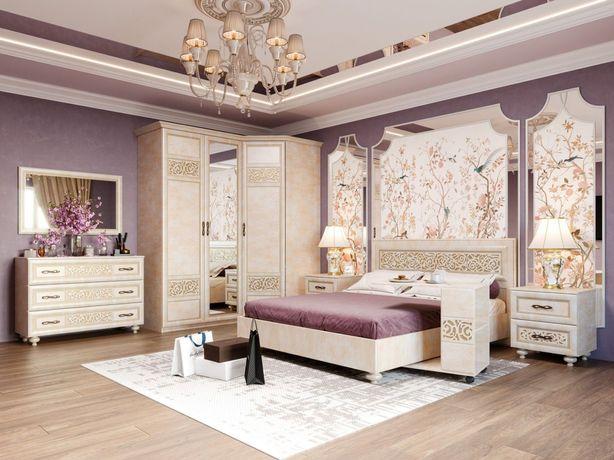 Спальный гарнитур кровать шкаф комод