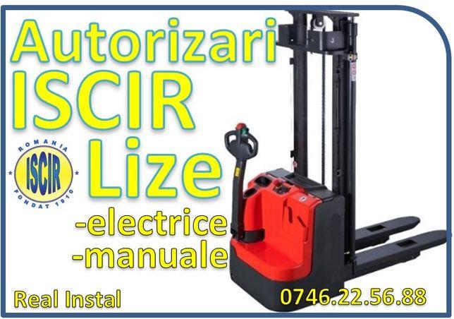 Autorizari ISCIR lize electrice , manuale