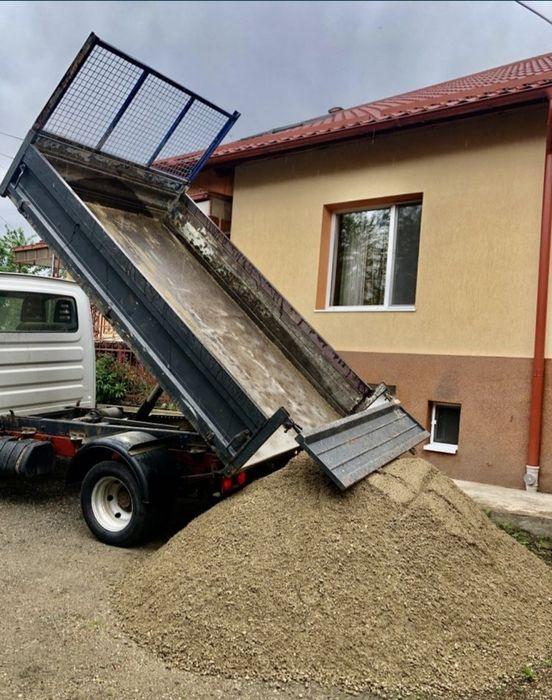 Transport marfa,moluz,nisip,mobila Ramnicu Valcea - imagine 1