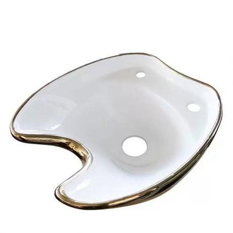 Луксозни мивки за измивни колони - златисто бяло/ златисто черно