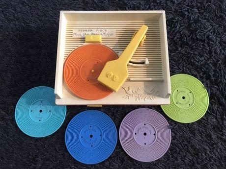 1971 Fisher Price Music Box Record Player Switzerland