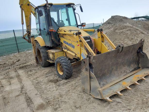 Închiriez Basculanta 8x4, Buldoexcavator și Excavator pe senile