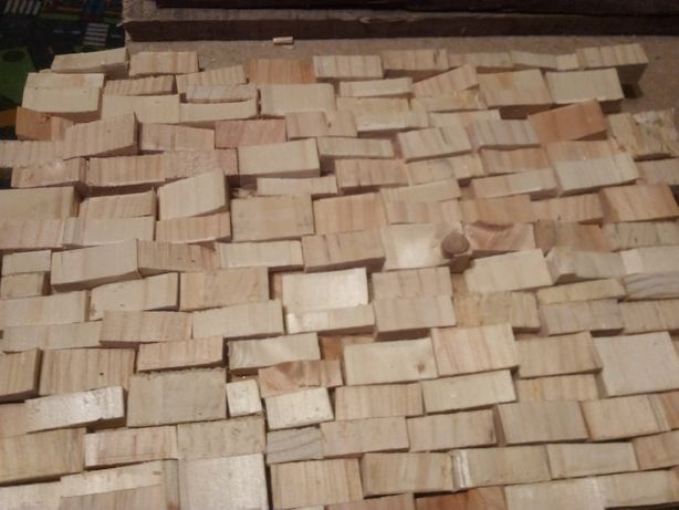 Perete 3D din lemn