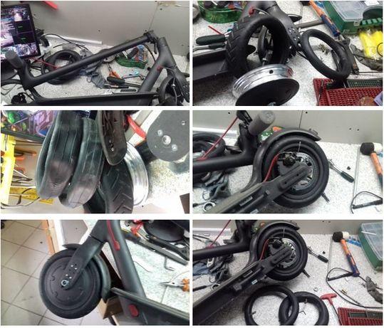 Покрышки Шины и Камеры для Электро самокатов литые гироскутеров