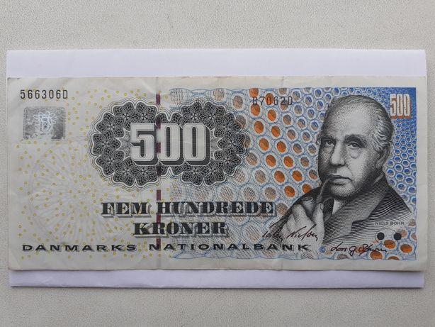 Bancnotă 500 coroane Danemarca 1997