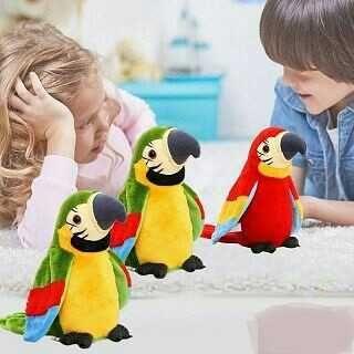 Говорещ папагал играчка повтарящ папагал пеещ