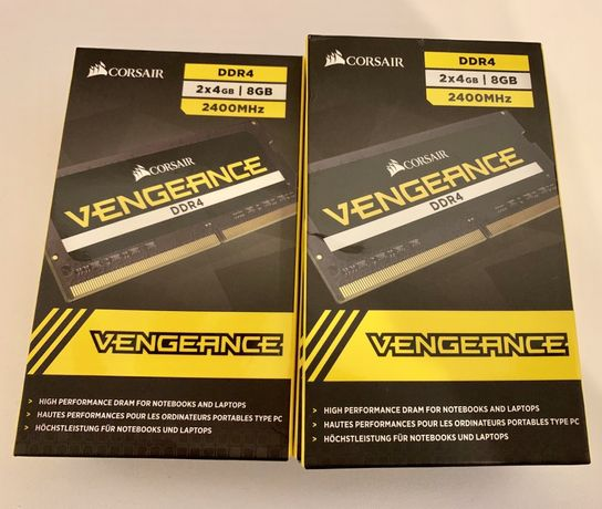 Memorie Laptop Notebook Corsair Vengeance 8GB 2x4GB DDR4 2400MHz NOI