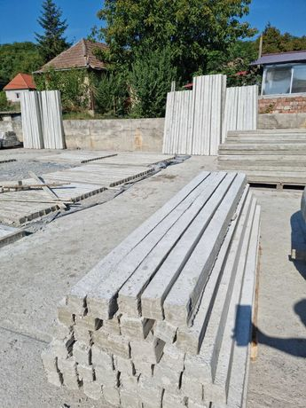 Stalpi/spalieri din beton cu armatura