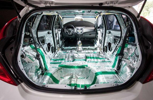 Шумо Вибро Теплоизоляция салона авто качественным материалом