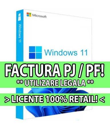 Windows 11 Pro / Home - Licente RETAIL (Magazin autorizat, factura!)