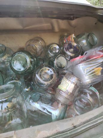 Продам банки стеклянные 0,3,0.5,0.7,1,2,3-х л.130,150,170,180,200тенге