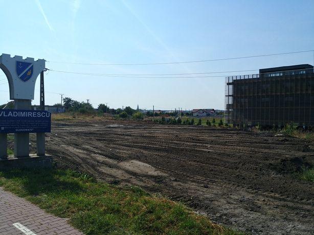 Vand teren intravilan la intrare in Vladimirescu