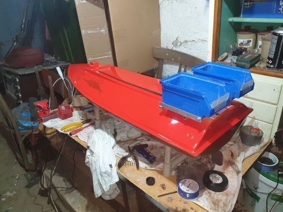 Ремонт на лодки за захранка