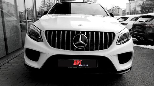 Grila Mercedes Benz GLE Coupe C292 (15-18) GT Design Camera