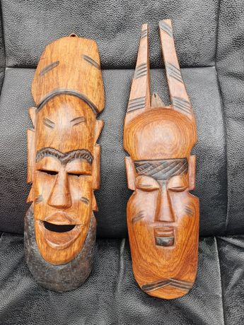 Дървени маски