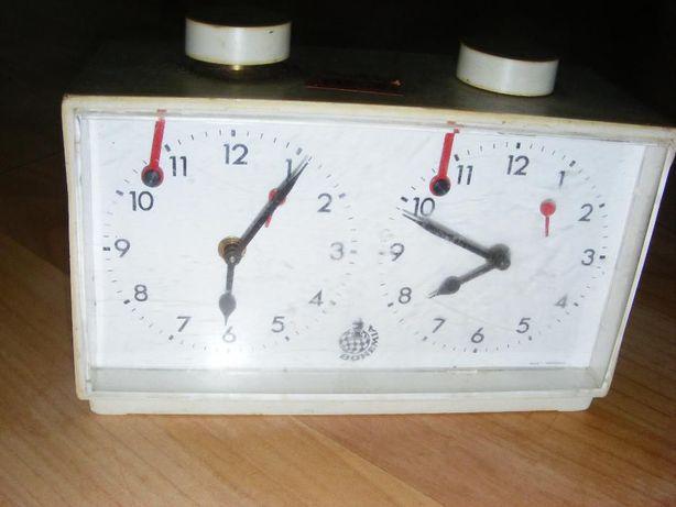 Vand ceas dublu pt. jocul de sah,cronometru mecanic vechi BOHEMIA