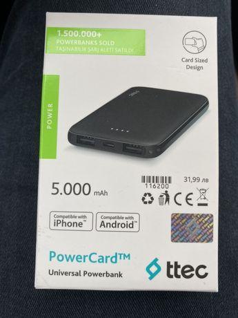 Преносима батерия - Power card