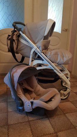 Продам коляску Inglesina Trilogy с автомобильным креслом до 1 года