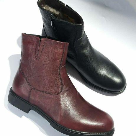 Натуральная мужская  кожанная обувь