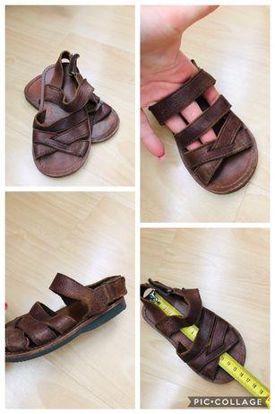Sandale zara piele  marimea 24