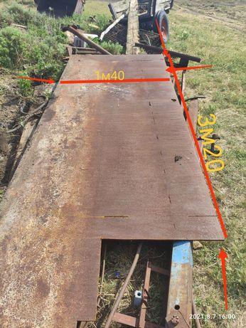 Продам лист железо, толщина 13мм