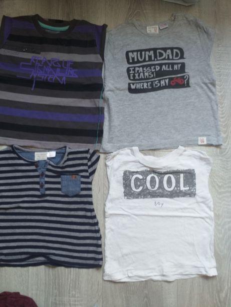Lot 4 bluze maneca lunga Zara, nr. 86-92