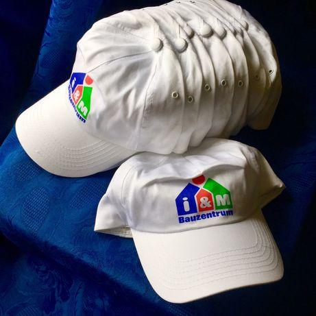 7 лв за 10 бр!Нови бели памучни шапки.