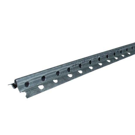 Profil ghidaj tencuiala 275, otel zincat, interior/exterior, 10 mm