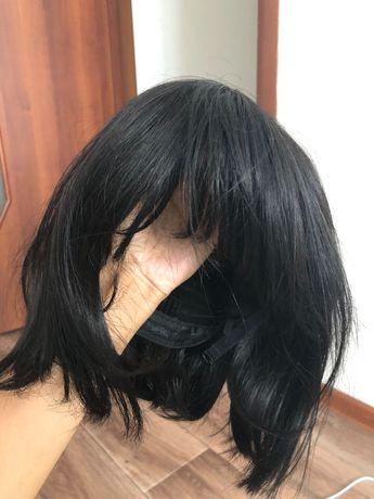 парик, живые волосы, естественный парик