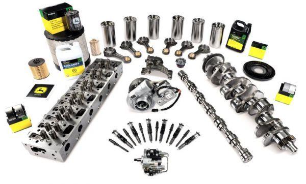 Set motor John Deere