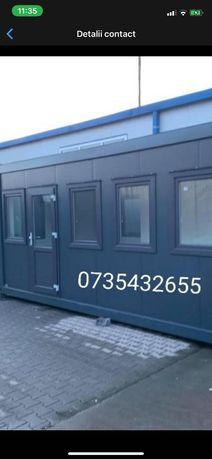 Container birou containere vestiare șantiere vitrina depozitare fast