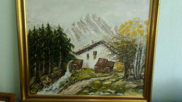 Пейзаж Рисувана от Немски майстор