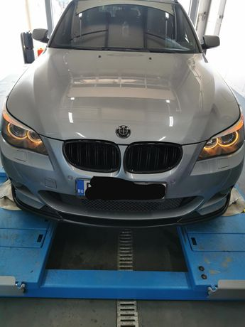 BMW E60 E61 Hamann Lip spoiler M tech /Хаманн лип спойлер за БМВ Е60
