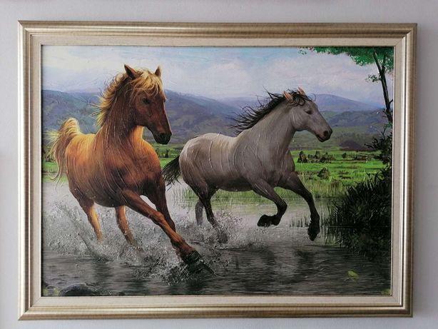 """Pictura - Reproducerea """"Calului Abstract"""" cu textură pictată manual!"""