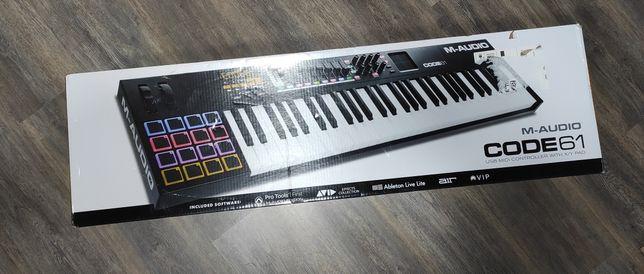 Claviatura USB MIDI M-AUDIO Code 61 BK - HN172942 - Noua Sigilata