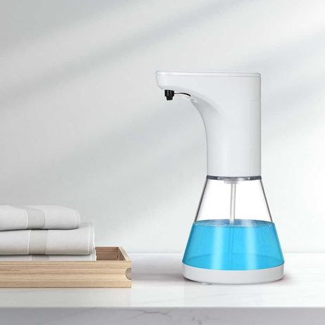 Dispenser sapun lichid cu senzor, alb