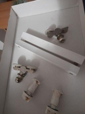Дръжка и колелца за Стъкла за душ кабина вис.1 88м