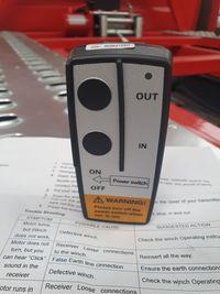 Kit telecomanda wirelles troliu auto winch lift