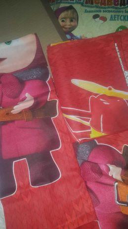 Детское постельное бельё, комплект, НОВЫЙ