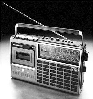 РадиоNational Panasonic RQ-554LDS