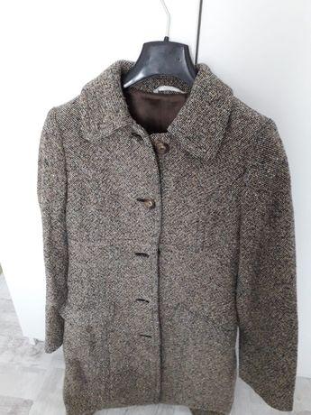 Palton dama, din lana, model elegant, STEFANEL