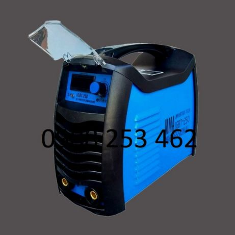250 F1 Електрожен Mах инверторен IGBT с 4 метра кабели директен внос