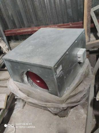 Вентилятор воздуховодный  радиальный ВРКп-3,15-4, 0,25квт