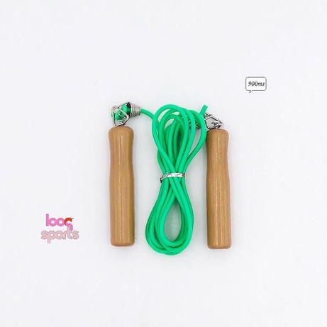 Скакалка с деревянными ручками Jump 246