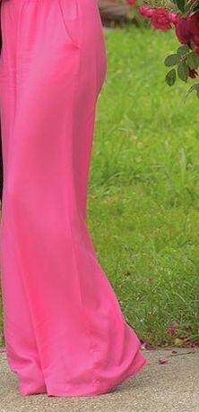 Pantaloni cullotes lungi Koton