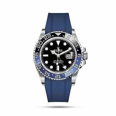 Rolex GMT-Master II 40mm Oysterflex blue. Poze reale, verificare colet