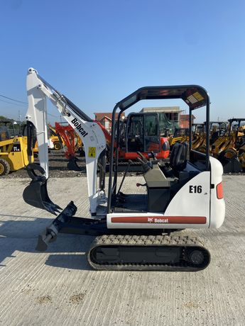 Minexcavator bobcat E16 an 2010