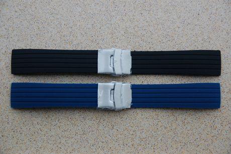 Curele bratari ceas din silicon 22-24mm latime