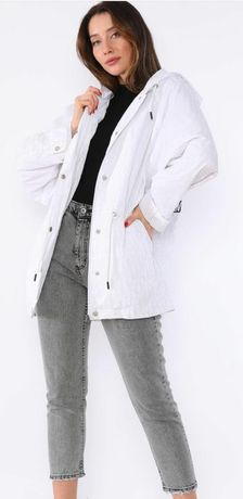 Ветровка куртка CHRISTIAN DIOR в белом цвете 50-52