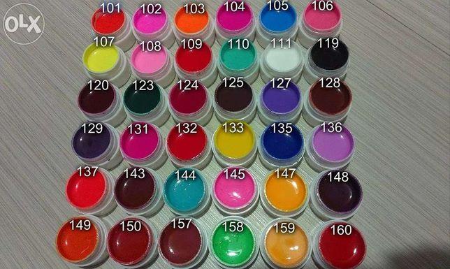 Set 36 geluri colorate GDCOCO / GD COCO lampa UV